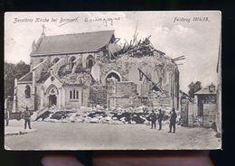 BRIMONT CP ALLEMANDE FELDPOFTARTE 1916 MR REINIGER - Autres Communes