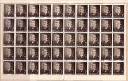 Roumanie / ROMANIA  1939  Poete Mihai Eminescu Mi No 596/597 Et Yv No 568/569 2v.-MNH   2 Sheet (5x10) - 1918-1948 Ferdinand, Charles II & Michael