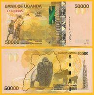 Uganda 50000 (50'000) Shillings P-54 2017 UNC - Uganda