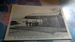 Cpa Cazaux Lac Buvette DeM Olive Sur La Plage - France