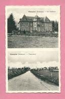 C.P. Champlon = Le  Château  +  Panorama - Tenneville