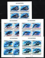 M22. Burundi - MNH - Animals & Fauna - Marine Mammals - Dolphins - Imperf - Dolphins