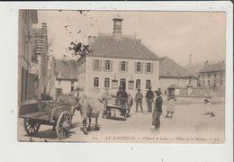 CPA - LE DAUPHINE - VILLARD DE LANS - Place De La Mairie - Attelage Boeuf - Villard-de-Lans