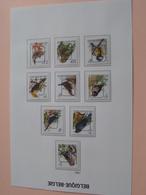 Lotje VOGELS / Des OISEAUX / BIRDS / VÖGEL 1992 ( 9 Stuks > Zie Foto's ) ! - België