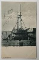 """AK   WARSHIP  BOAT  KRIEGSCHIFFE   S.M.S. """" BELLONA """"  1905. - Guerra"""