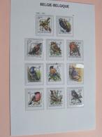 Lotje VOGELS / Des OISEAUX / BIRDS / VÖGEL 1986 / 1991 ( 11 Stuks > Zie Foto's ) ! - Belgique