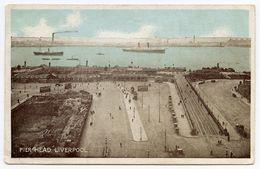 LIVERPOOL : PIER HEAD / ADDRESS - PTE. TAIT, 7th LIGHT INFANTRY, KING GEORGE HOSPITAL, STAMFORD STREET, LONDON, 1915 - Liverpool
