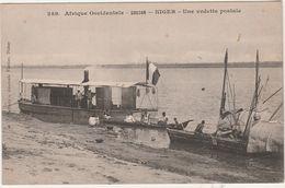 Carte Afrique Occidentale / Soudan / Niger / Une Vedette Postale / Bateau Poste - Sudan