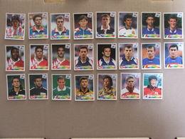 PANINI FOOT - World Cup France 98 - Collection Danone - Lot De Vignettes - Alte Papiere