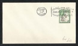 Jamaica 1953 Slogan Postmark Used Cover Jamaica - Jamaica (1962-...)