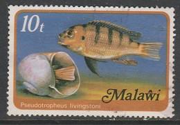 Malawi 1977 Fish Of Lake Malawi - Malawi (1964-...)
