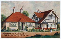 LONDON : JAPAN BRITISH EXHIBITION - OETZMANN'S COTTAGES (ADVERTISING) - Exhibitions