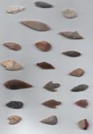 Box99 Flêches Du Néolithique Du Sahara - Archéologie