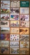 Lot De 24 Cartes Postales Salons & Bourses & Festivals Cartophilie /h - Bourses & Salons De Collections