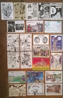 Lot De 23 Cartes Postales Salons & Bourses & Festivals Cartophilie - Bourses & Salons De Collections