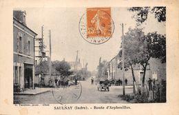 36-SAULNAY- ROUTE D'ARPHEUILLES - France