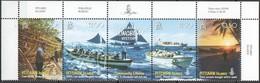 Pitcairn Islands 2008 Yvertn° 695-699  *** MNH Cote 14 Euro Bateaux Boten Ships - Timbres