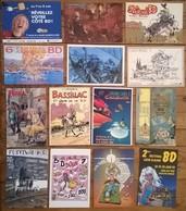 Lot De 14 Cartes Postales Salons & Bourses & Festivals / Bandes Dessinées EAUZE /a - Bourses & Salons De Collections