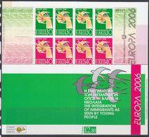 Europa Cept 2006 Cyprus Booklet ** Mnh (39928) - Europa-CEPT