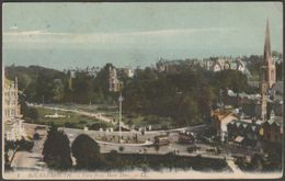 View From Mont Dore, Bournemouth, Hampshire, 1910 - Lévy Postcard LL1 - Bournemouth (until 1972)