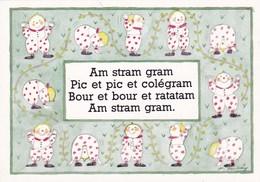COMPTINE AM STRAM GRAM/MONIQUE TOUVAY (dil393) - Verzamelingen & Reeksen