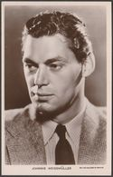 Actor And Swimmer Johnny Weissmüller, C.1940 - Picturegoer RP Postcard - Entertainers