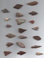 Box107 Flêches Du Néolithique Du Sahara - Archéologie