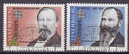 1992, Luxemburg, 1293/94, Europa: 500. Jahrestag Der Entdeckung Von Amerika. USED. - Luxembourg