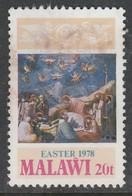 Malawi 1978 Easter - Malawi (1964-...)