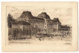 Bruxelles - Palais Du Roi - Marktpleinen, Pleinen