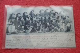 Montenero Di Bisaccia Campobasso L' Orchestra 29.8.1900 Molto Bella - Unclassified