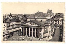Brussel - Koninklijke Muntschouwburg - Marktpleinen, Pleinen