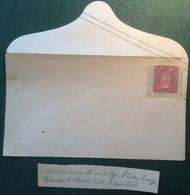 NDP 1868 Oldenburg 2Gr Ganzsache Aufbrauchausgabe Mi.  U18 SELTEN (Brief Postal Stationery - Norddeutscher Postbezirk