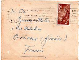 Lettre D'espagne  Pour La    France.   1967 - 1951-60 Briefe U. Dokumente