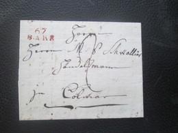 Alsace Lorraine - Marque Postale 67 BARR - An 11 - Sammlungen (im Alben)