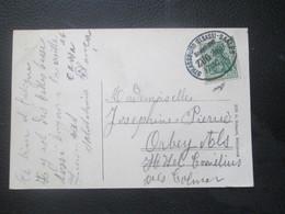 Alsace Lorraine - Bahnpost STRASSBURG - SAALES 1910 - Frappe Superbe - Sammlungen (im Alben)