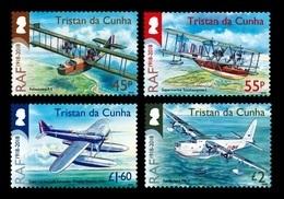 Tristan Da Cunha 2018 Centenary Of Royal Air Forces 4v MNH - Tristan Da Cunha