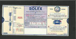 Régle Publicitaire SOLEX - Vieux Papiers