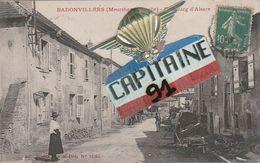 CPA BADONVILLERS MEURTHE ET MOSELLE FAUBOURG D ALSACE - Autres Communes