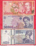 Roumanie 21 Billets 15 Dans L 'état Et 6 état Très Moyen Voir Scan - Romania