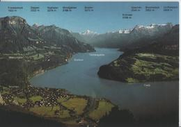 Vierwaldstättersee - Blick Vom Urmiberg Auf Brunnen, Morschach Und Seelisberg - Photo: Rud. Suter - SZ Schwyz