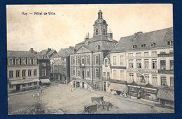 Huy. Hôtel De Ville. Café De L'Hôtel De Ville Et Café Littéraire E. Warnotte. 1925 - Huy
