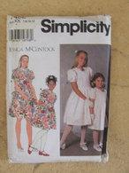 Patron Robe Pour Enfant Et Fillette - Simplicity Réf 7462 - Patterns