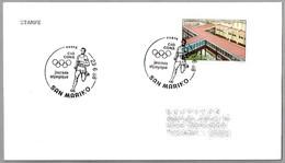 CIO (Comite Internat. Olympique) - CONS (Comitato Olimpico Nationale Sammarinese). San Marino 1988 - Juegos Olímpicos