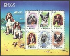 Antigua & Barbuda 2000 Yvertn° 2713-2718 *** MNH Cote 15 Euro Faune Chiens Honden Dogs - Antigua Et Barbuda (1981-...)