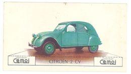 Chromo Chocolat Cemoi, Citroën 2 Cv - Chocolat