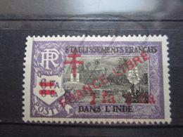 VEND BEAU TIMBRE D ' INDE N° 215 , X !!! - India (1892-1954)
