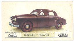 "Chromo Chocolat Cemoi, Renault "" Frégate "" - Chocolat"