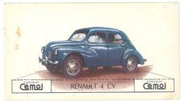 Chromo Chocolat Cemoi, Renault 4 CV - Chocolate