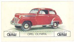 Chromo Chocolat Cemoi, Opel Olympia - Chocolat